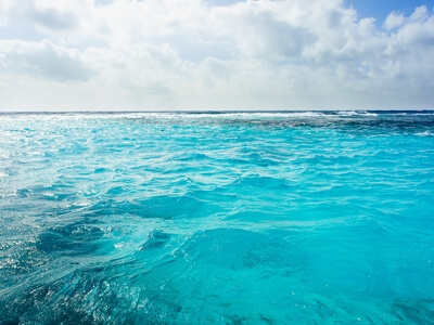 Sea Caribbean blue water turquoise travel