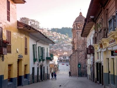 Cuzco Streets Peru