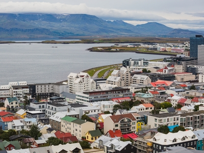 Reykjavik, Iceland city views coast travel Europe