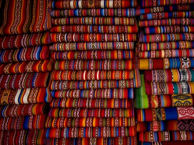 Peruvian woven fabric ancient Andean traditon