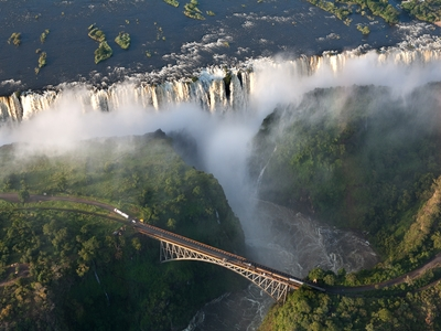 The mighty Victoria Falls South Africa