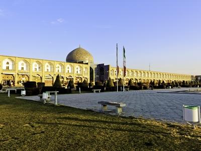 Meidan Emam Square, a UNESCO World Heritage Site in Iran