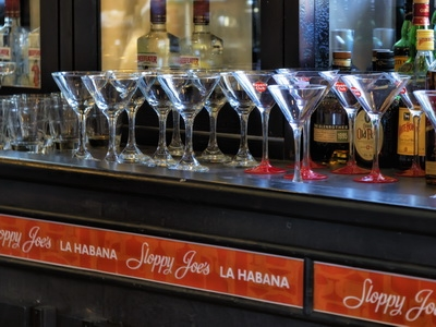 Sloppy joes bar Havana Cuba.