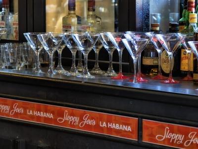 The Sloppy Joes bar in Havana, Cuba