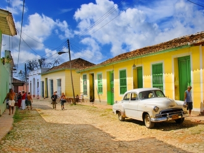 the colorful streets of Trinidad, Cuba