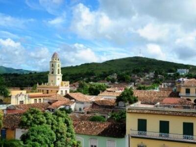 Scenic View of Trinidad Cuba
