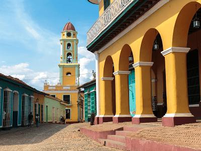 Historic Street of Trinidad Cuba